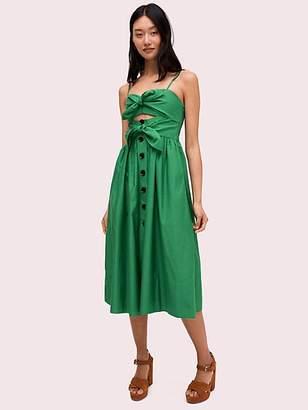 f3e978cd4697 Kate Spade Tie-front Dress, Desert Palm - Size 0