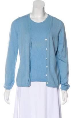 Malo Cashmere Cardigan Set