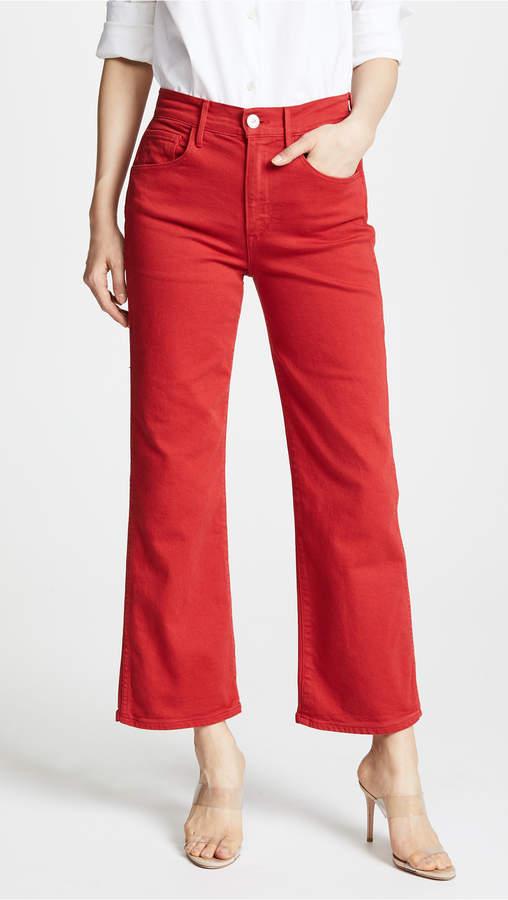 3x1 W4 Shelter Wide Leg Crop Jeans