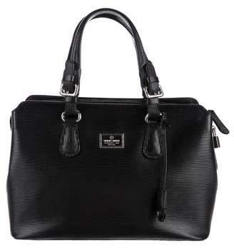 Giorgio Armani Leather Top Handle Bag