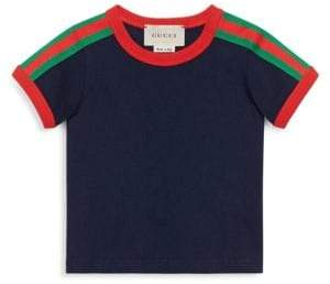 Gucci Baby Boy's Crewneck Stripe Tee