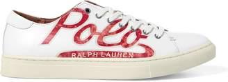 Ralph Lauren Jermain Calfskin Sneaker