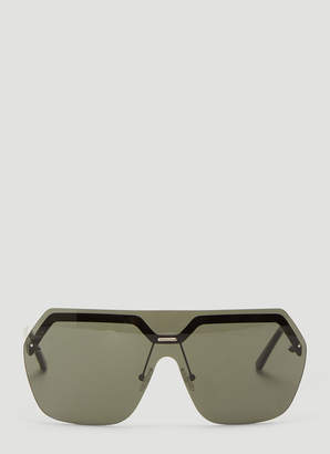 Andy Wolf X Pinqponq Ponq Sunglasses in Black