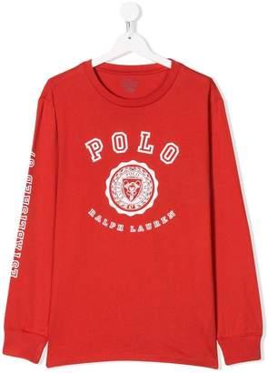 Ralph Lauren logo printed T-shirt
