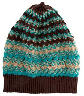 Missoni Wool Pattern Beanie