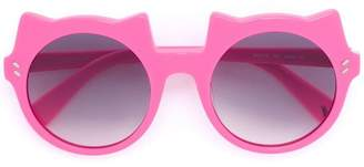 Stella McCartney cat accent sunglasses