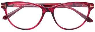 Tom Ford soft cat eye glasses