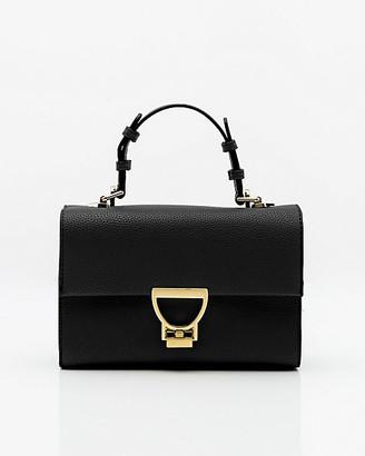 Le Château Faux Leather Satchel Bag
