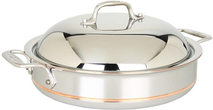 All-Clad Copper-Core 3 Qt. Sauteuse Pan with Lid