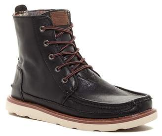 Toms Searcher Leather Moc Toe Boot