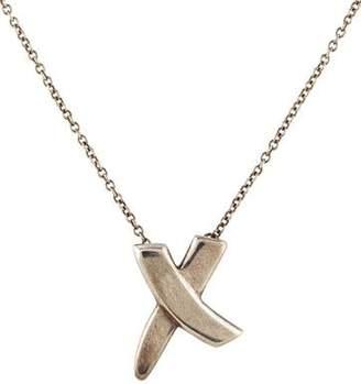 Tiffany & Co. Graffiti X Pendant Necklace