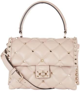 Valentino Leather Rockstud Candy Shoulder Bag