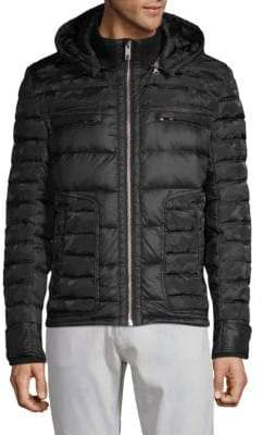 Jet Lag Quilted Full-Zip Jacket