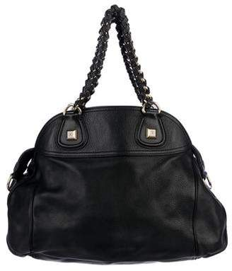 Givenchy Pebbled Leather Satchel
