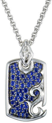 Stephen Webster Silver 1.01 Ct. Tw. Sapphire Necklace
