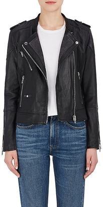 Blanknyc Women's Vices Leather & Suede Moto Jacket $348 thestylecure.com