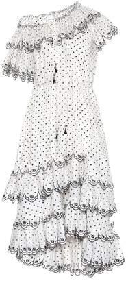 Zimmermann Jaya dotted linen dress
