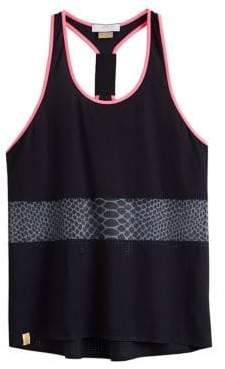 Monreal London Printed Panel Racer Tank