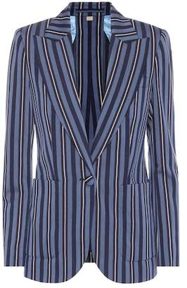 Burberry Collegiate striped wool-blend blazer