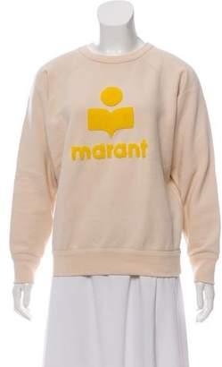 Etoile Isabel Marant Embroidered Crew Neck Sweatshirt