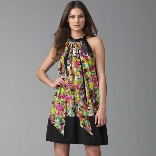 Etro Floral Bubble Dress