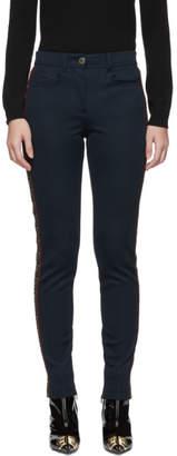 Fendi Navy Forever Panel Trousers