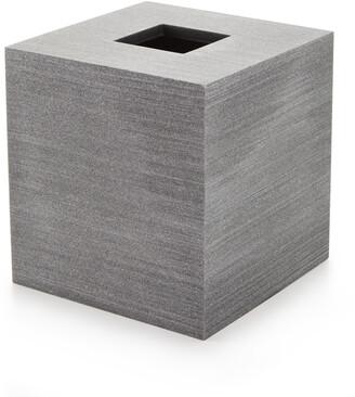 Kassatex Slate Tissue Box Holder