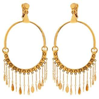 Chloé Quinn Large Charm Earrings - Womens - Gold