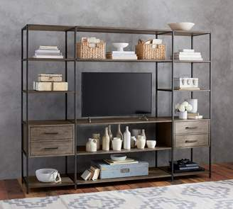 Pottery Barn Ramsey Small Media Suite
