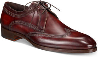 Massimo Emporio Men Wingtip Water-Resistant Derbys, Men Shoes
