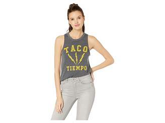 Chaser Taco Time Tri-Blend Muscle Tank
