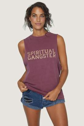 Spiritual Gangster Cut-Off Band Tank