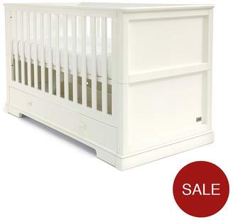 Mamas and Papas Oxford Cotbed -White