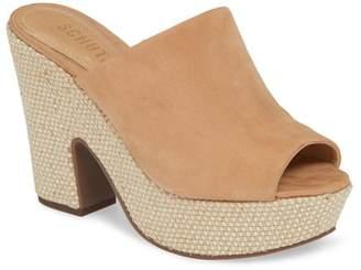 Schutz Dandara Platform Slide Sandal (Women)