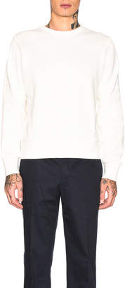 Thom Browne Honeycomb Pique Sweatshirt in White | FWRD