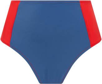 Solid & Striped Swim Team 2018 The Jessica Color-Block Bikini Bottoms