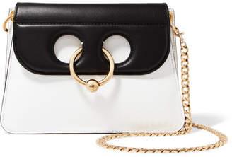 J.W.Anderson Pierce Mini Two-tone Leather Shoulder Bag