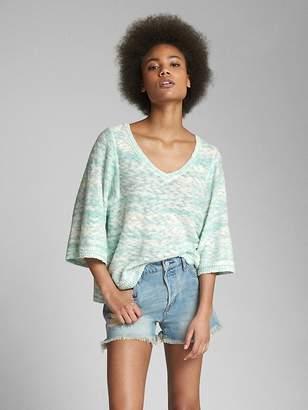 Gap Popover V-Neck Sweater