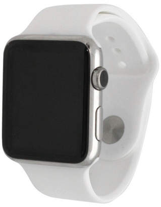 OLIVIA PRATT Olivia Pratt Compatible With Apple Watch Unisex White Watch Band-8812white42