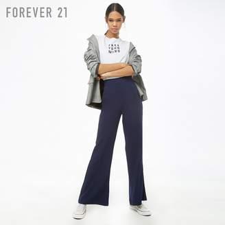 Forever 21 (フォーエバー 21) - Forever 21 ハイウエストフレアパンツ