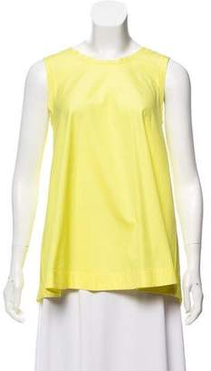 Ermanno Scervino Sleeveless Scoop Neck Top