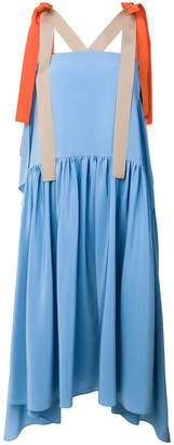 Fendi flared midi dress