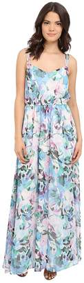 BB Dakota Filippus Floral Haze Printed Maxi Dress Women's Dress