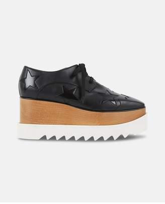 Stella McCartney Black Elyse Star Shoes