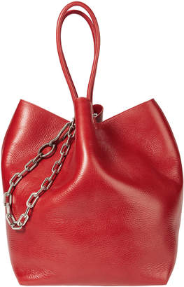 Alexander Wang Roxy Large Red Leather Tote