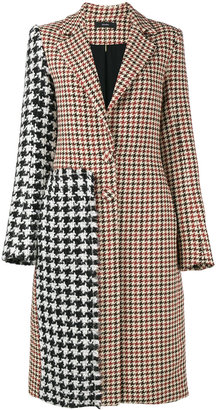 Contrast check coat