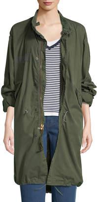 Elizabeth and James Vintage One-of-a-Kind Fishtail Parka Jacket