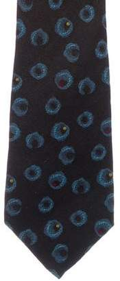 Gianni Versace Silk Print Tie