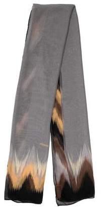 Missoni Silk Chevron Scarf