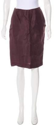 Marni Silk Knee-Length Skirt